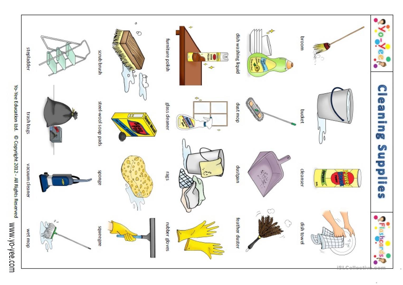 Worksheets On Cleanliness For Kindergarten