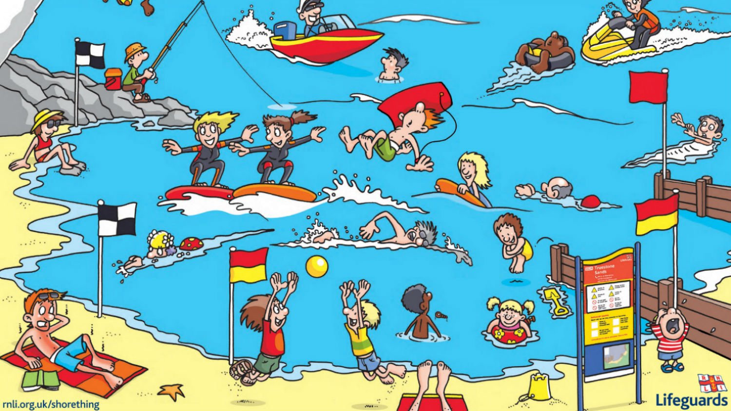 Beach Safety Worksheets