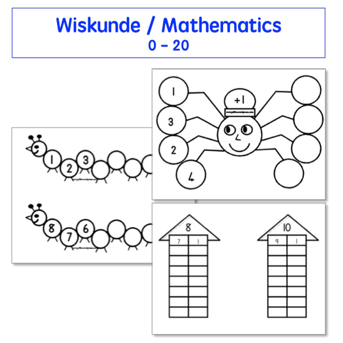 Grade 1 Afrikaans Worksheets