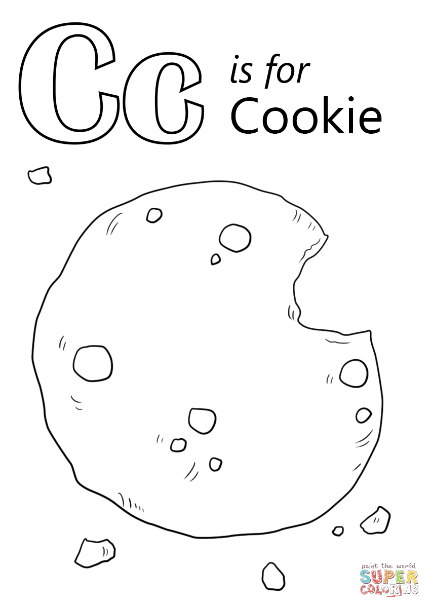 C Is For Cookie Worksheets