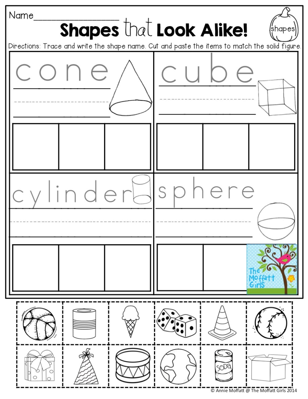 medium resolution of Shapes Worksheet 1st Grade Fun   Printable Worksheets and Activities for  Teachers
