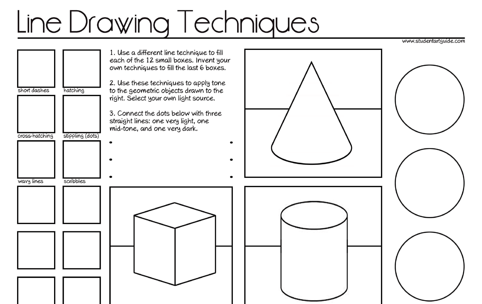 Worksheets For Drawing