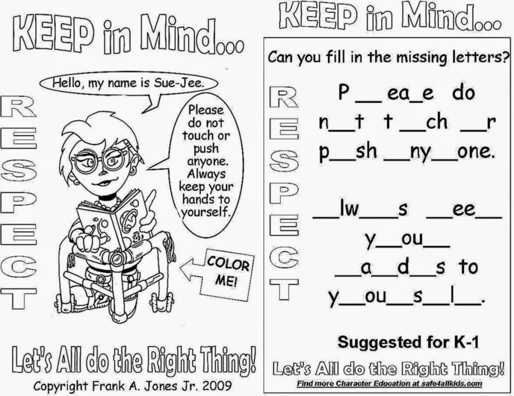 medium resolution of Respecting Diversity Worksheet   Printable Worksheets and Activities for  Teachers