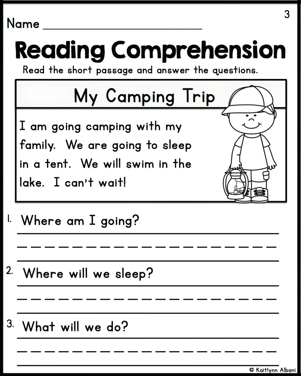 Worksheets Comprehension Worksheets For Grade 2