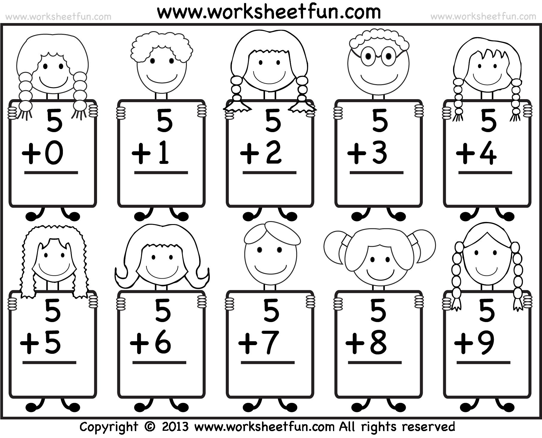Awesome Sr Kg Maths Worksheets Component Worksheets Samples