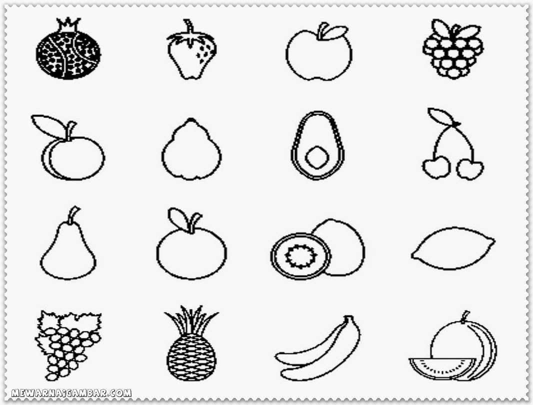 Sorting Fruits And Vegetables Worksheets