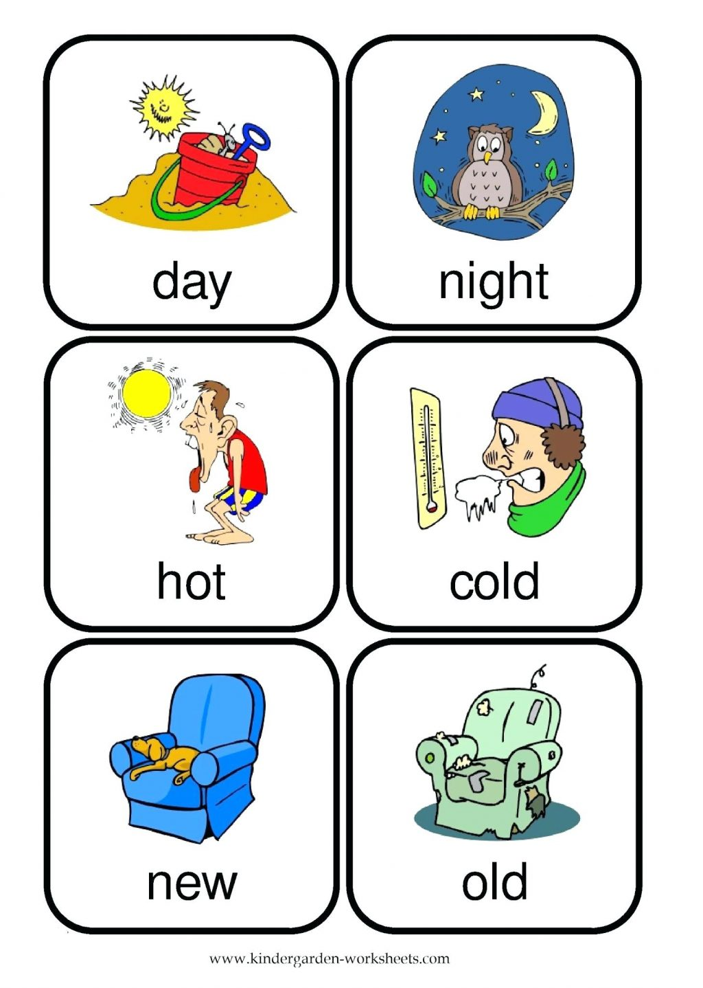 Kindergarten Hot And Cold Worksheets For Kindergarten