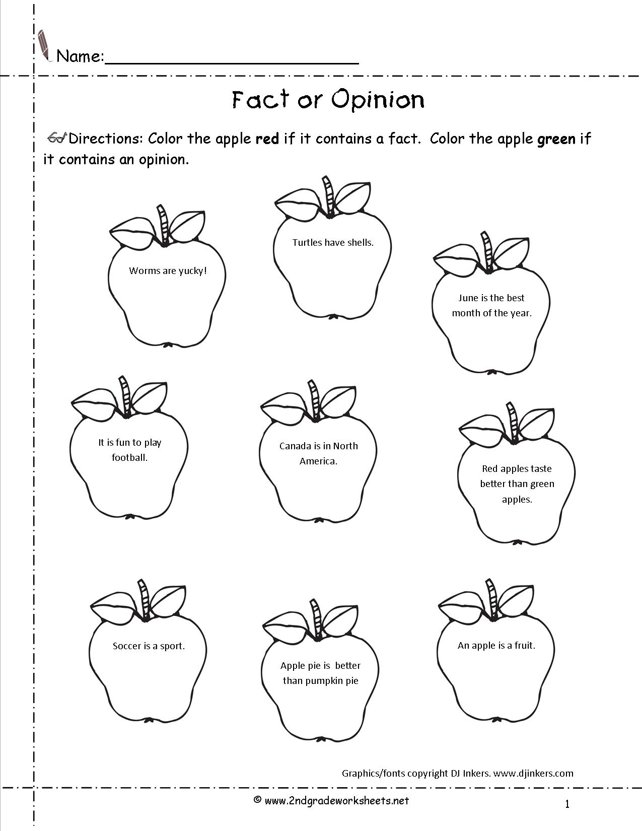 Math Free Writing Worksheets For 2nd Grade Nd Grade