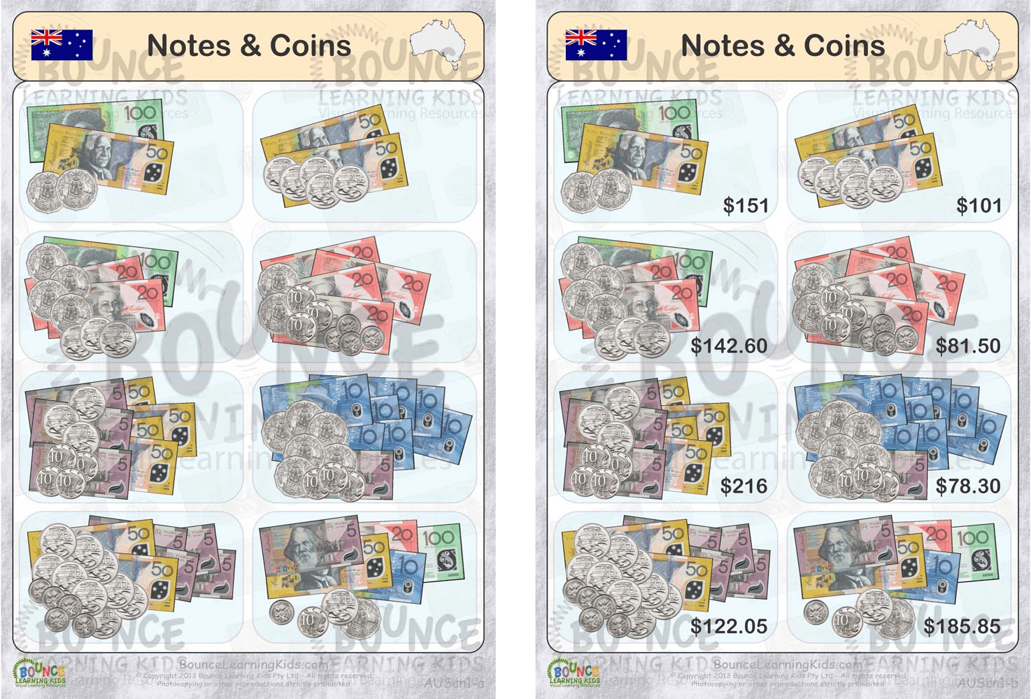 Pleasing Learning To Count Money Worksheets Australia With