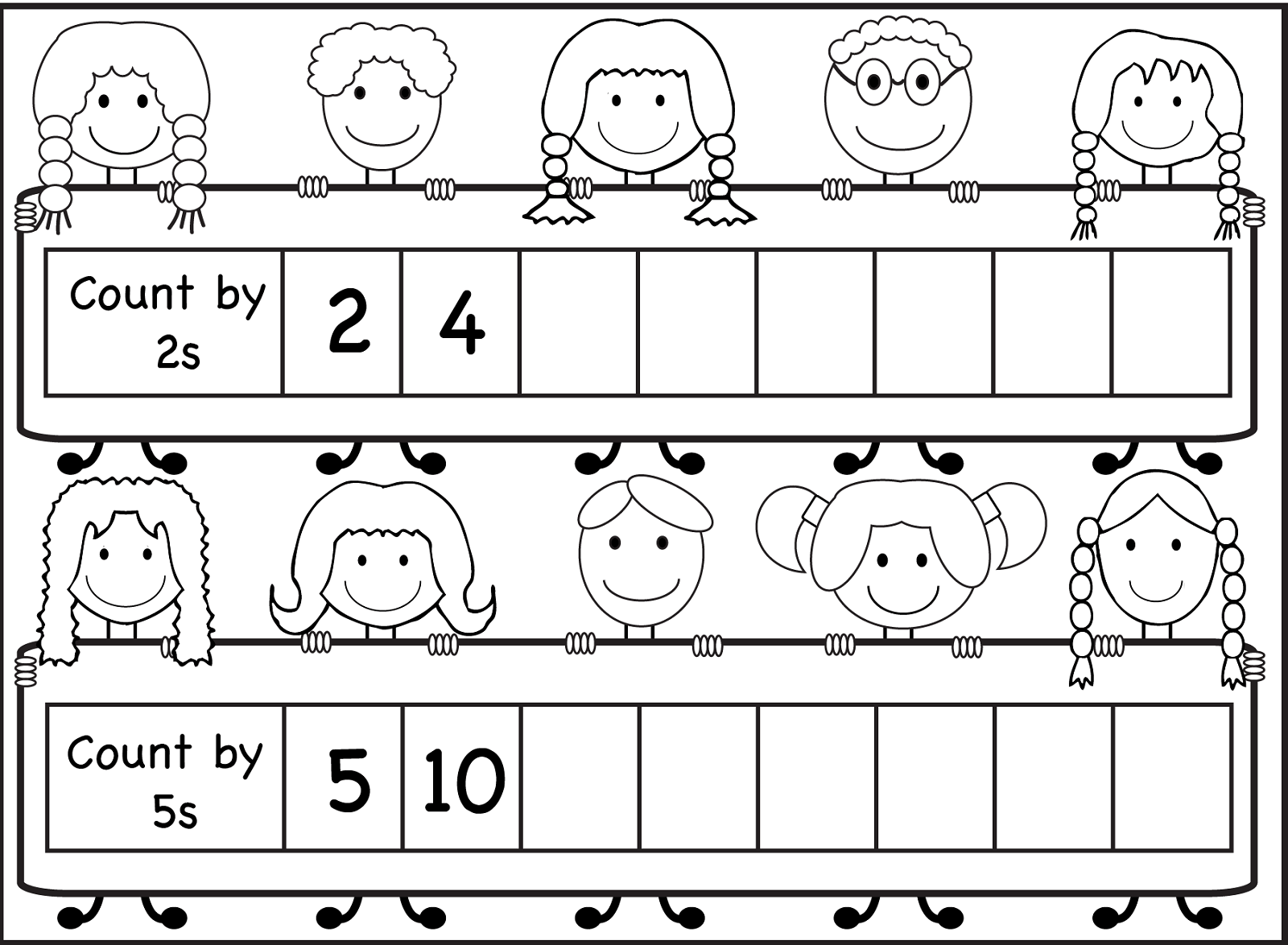 Skip Count By 5 Worksheet Worksheets Samples