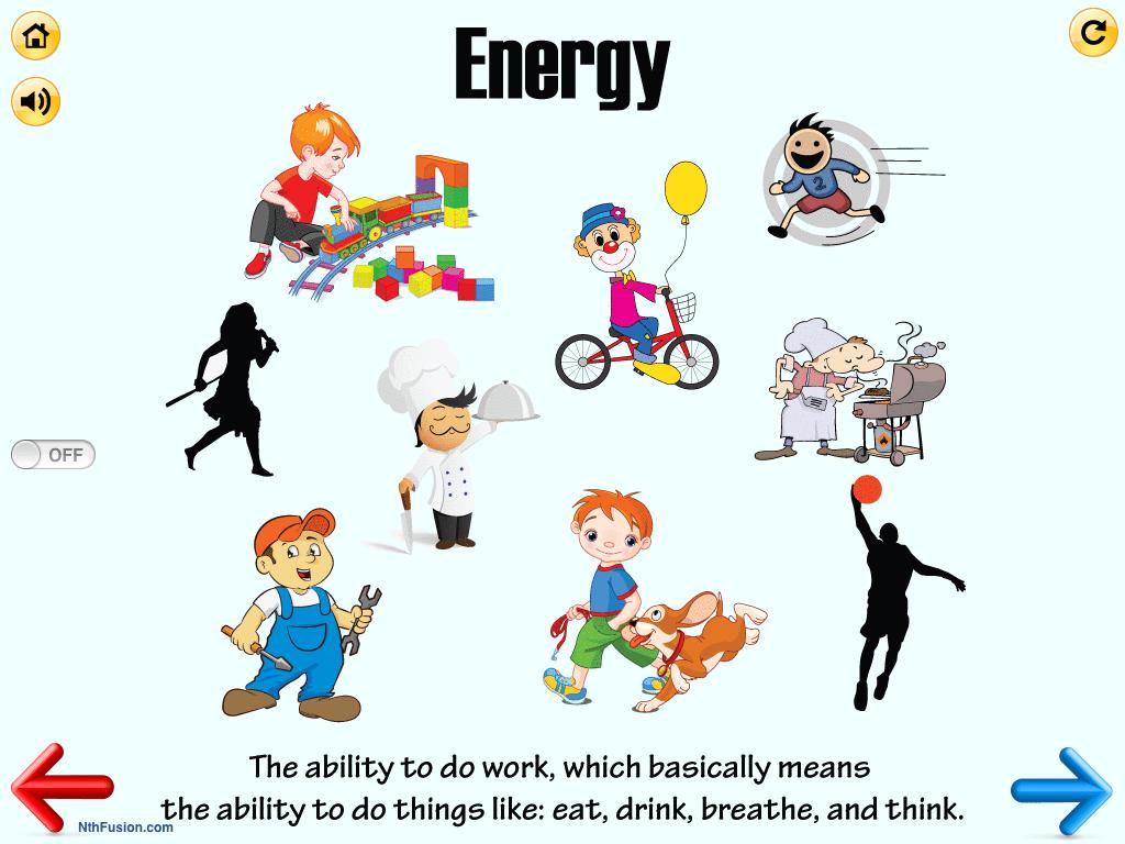 Energy Worksheets For 2nd Grade