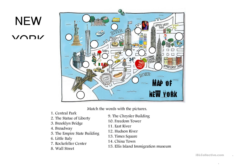 Worksheets New York