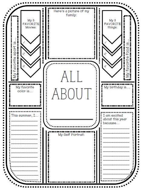 Getting To Know You Questions For Kids Worksheet