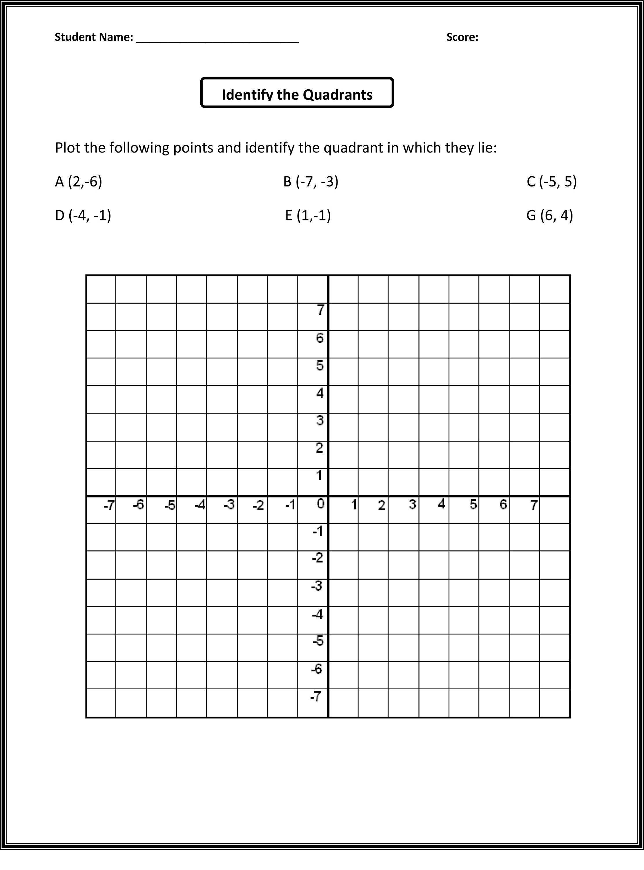 Coordinate Graphing Worksheets Halloween