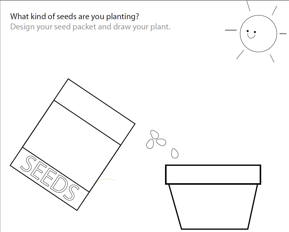 In The Garden Worksheets
