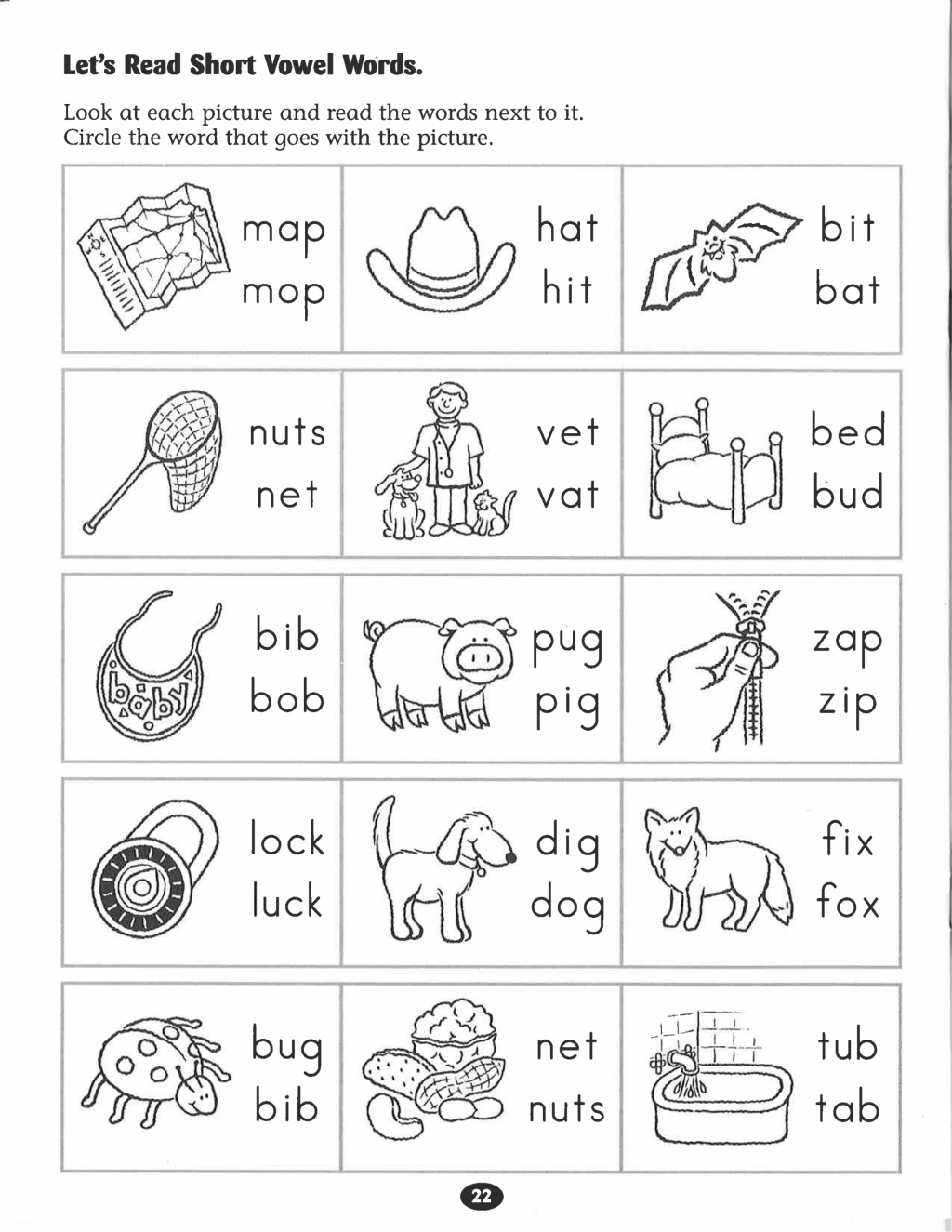 Long Vowel Sound Worksheet