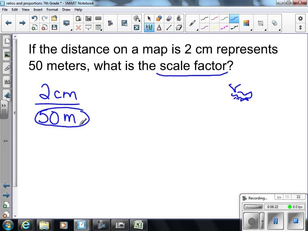 Scale Factor Worksheets 7th Grade