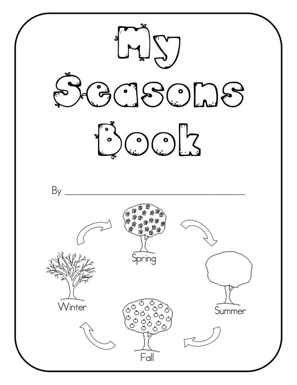 Seasons Of The Year Worksheets