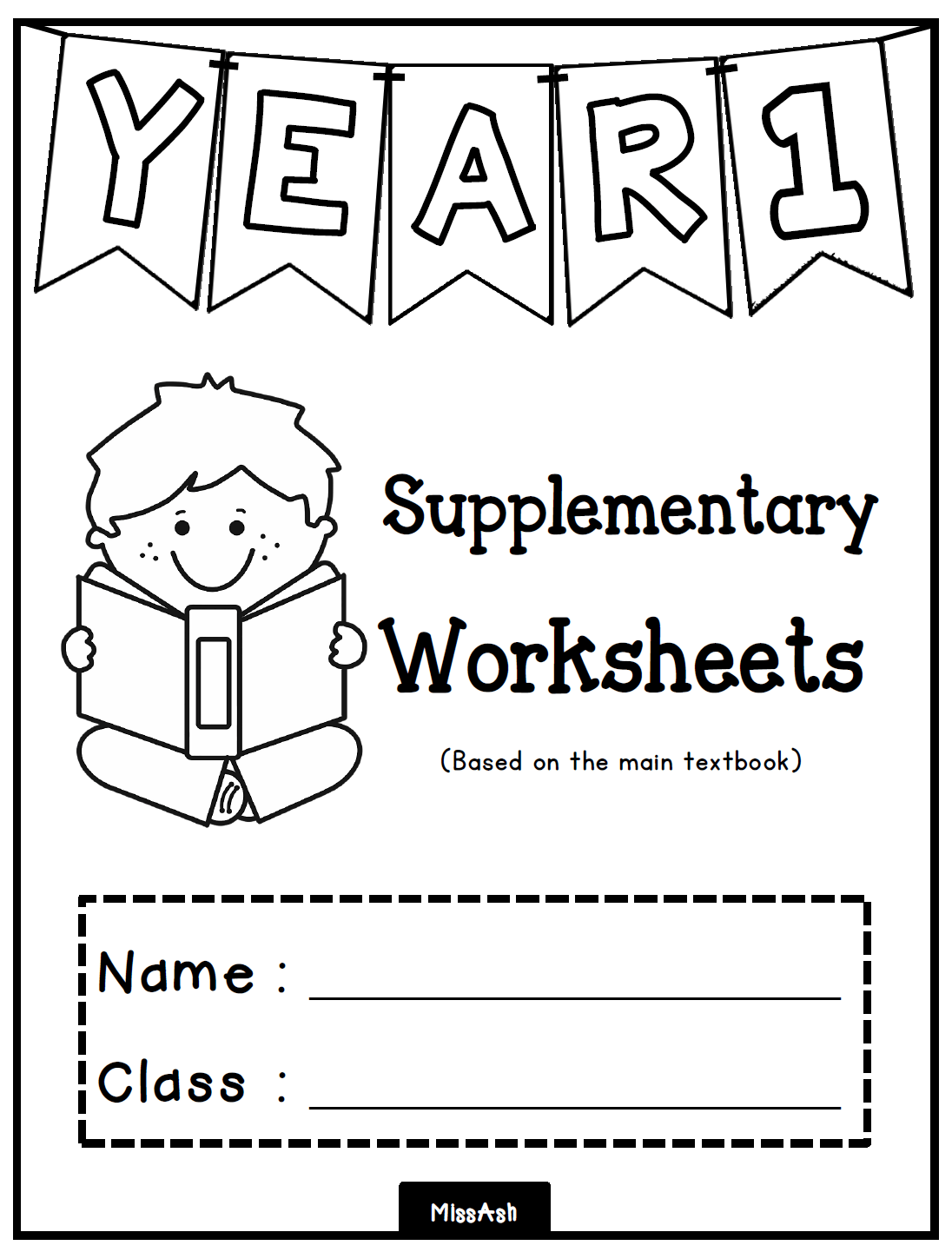 Worksheets For Year 1