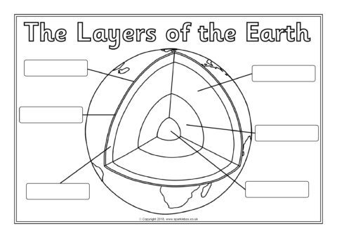 Earth Structure Worksheets
