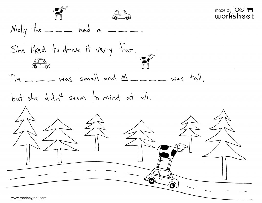 Made By Joel A Kids Spelling Worksheet No 2 Worksheets