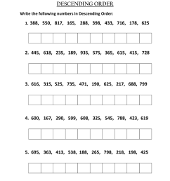 Ascending And Descending Notes Worksheet   Printable Worksheets and  Activities for Teachers [ 1600 x 1131 Pixel ]