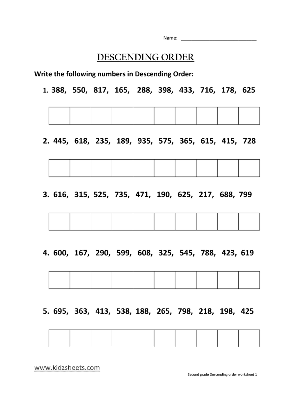 medium resolution of Ascending And Descending Notes Worksheet   Printable Worksheets and  Activities for Teachers