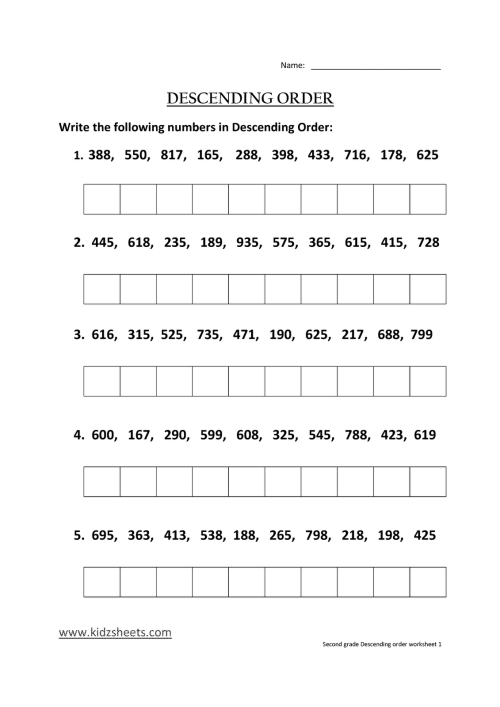 small resolution of Ascending And Descending Notes Worksheet   Printable Worksheets and  Activities for Teachers