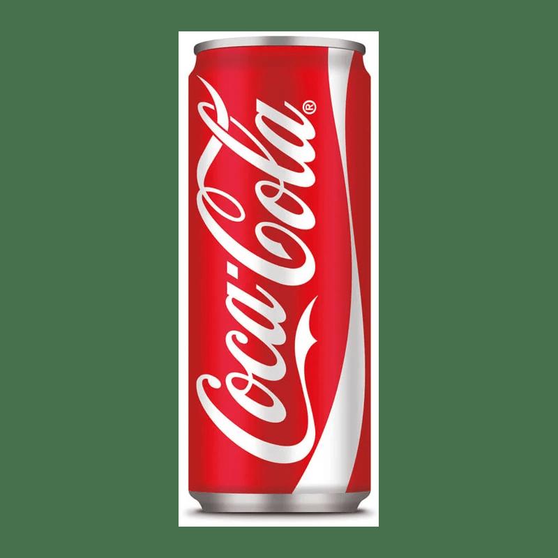 Coca Cola lattina al Ristorante un Mondo di Sapori a Milano