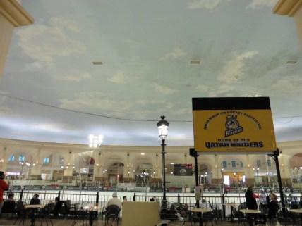 Pista de hielo en centro comercial