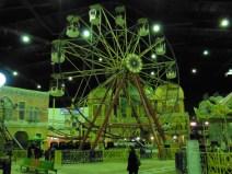 Parque de atracciones en centro comercial