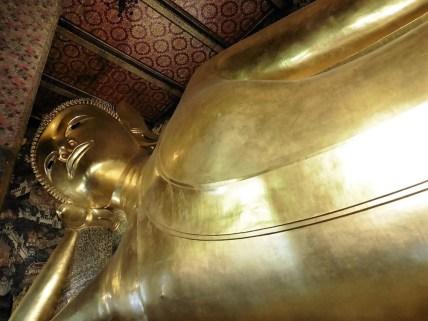 Buda reclinado en Wat Pho