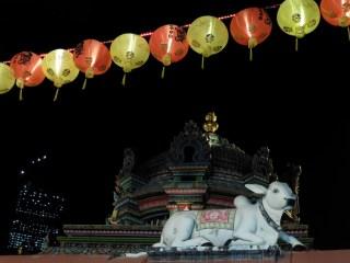 Chinatown y templlo hiduísta