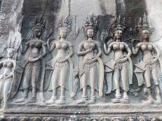 Apsaras en Angkor Wat