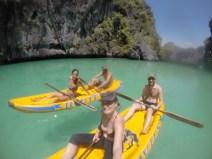 Kayaking en El Nido