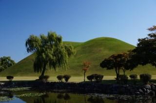 Parque de los Túmulos en Gyeongju