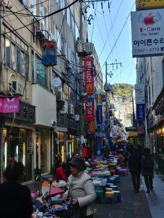 Mercadillos en Busan