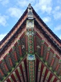 Detalle del templo de Yakcheonsa