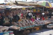 Exteriores del mercado de Jagalchi