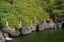 Hareubangs en el templo de Yakcheonsa