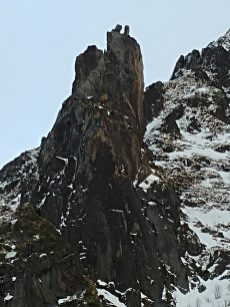 """Cabra de Svolvaer"" o monte Svolvaergeita"