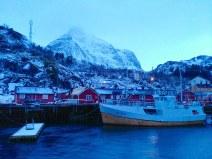 Pueblo pesquero de Nusfjord