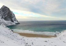 Playa de Kvalvika