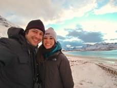 En la playa de Ramberg