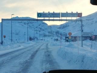 Frontera con Suecia
