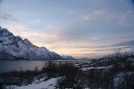 Desde el mirador de Austnesfjorden
