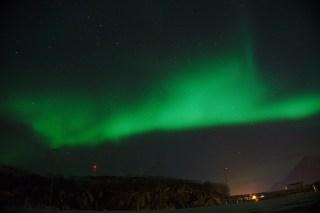 Aurora boreal en Hennigsvær