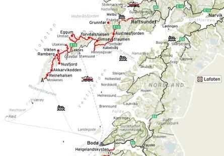 E10-Norwegian Scenic Route Lofoten