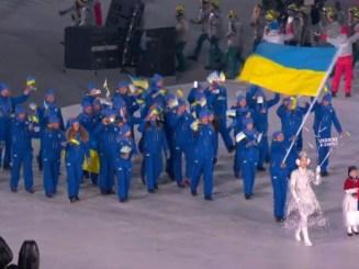Українська збірна взяла участь у церемонії відкриття Олімпіади-2018