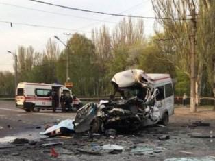 Масштабна ДТП в Кривому Розі за участю маршрутки і автобуса: вісім загиблих